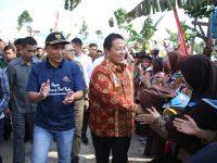 Ribuan Masyarakat Antusias Kunjungi Festival Kopi Lampung Barat