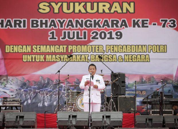 Gubernur Lampung Apresiasi Kinerja Personel Polri