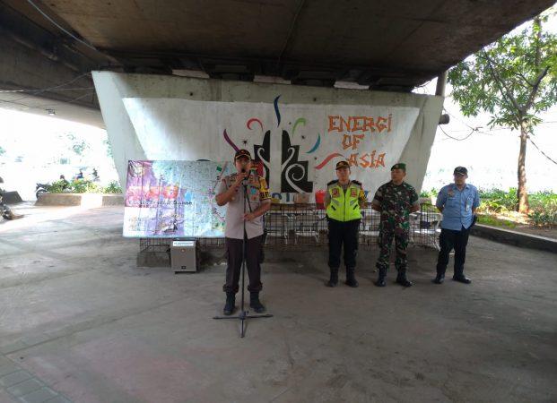 Polsek Tanjung Duren Apel Pengamanan Persija VS Persib