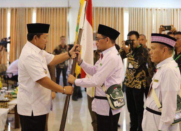 Pelepasan Kloter Pertama Haji Lampung