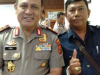 irjen.pol. Drs. Firli.Msi. Kapolda Sumsel kunjungi kantor PWI dan kantor Media SUMEK