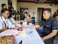 Polres Jakbar Juga Gelar Bhakti Kesehatan Meriahkan HUT Bhayangkara
