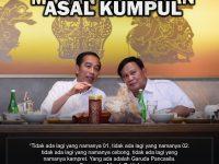 Saatnya Bersatu Memajukan Bangsa (Pertemuan Jokowi-Prabowo)
