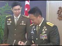 Kunjungan Kasad Jenderal Andika ke Pejabat Militer dan Menhan Singapura