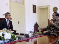 Presiden Jokowi dan Menlu Singapura Bahas Persiapan 'Leader's Retreat'