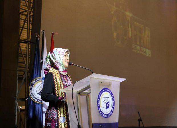 Hadiri FFMI 2019, Nunik Dukung Cineas Muda Berbakat Lampung