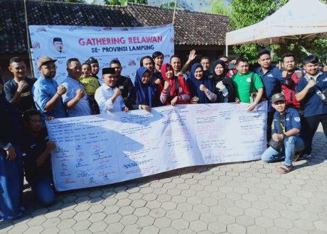 Empat Pernyataan Sikap Relawan Lampung di Rumah Aspirasi Antoni Imam