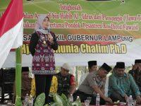 Wagub Nunik Letakan Batu Pertama Pembangunan Ponpes Roudhotul Fawaid