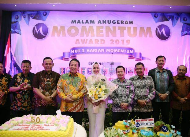 Seremoni SKH, Arinal Akui Peran Penting Media dalam Pembangunan Lampung