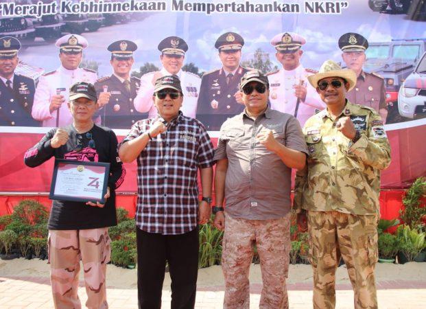Peringatan Kemerdekaan RI ke-74, Gubernur Lampung Melepas Pawai Kebangsaan 175 KM