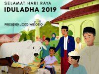 Presiden Jokowi: Kita Berkorban Dengan Sumbangsih Terbaik