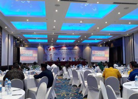 Bawaslu Lampung Gelar Media Gathering Ekspose Hasil Pengawasan Pemilu 2019