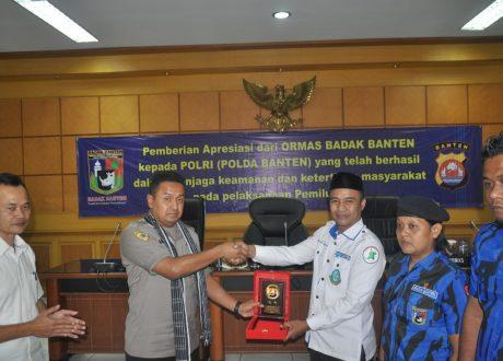 Pemilu 2019 Berjalan Aman, Damai dan Sejuk, Ormas Badak Banten Apresiasi Polda Banten
