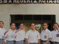 Pelajar Asal Papua di Banten Gelar Deklarasi Damai