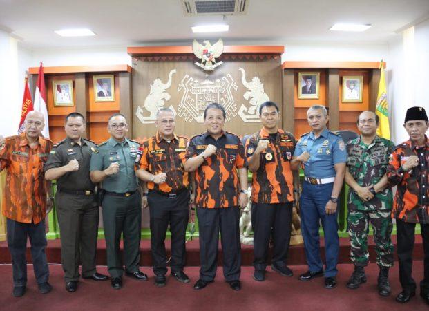 Gubernur Arinal Ajak Pemuda Pancasila Sinergi Wujudkan Rakyat Lampung Berjaya