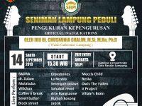 dr. Aldo: Wagub Nunik Akan Kukuhkan Organisasi SELPI, Komunitas Pecinta Musik Lampung