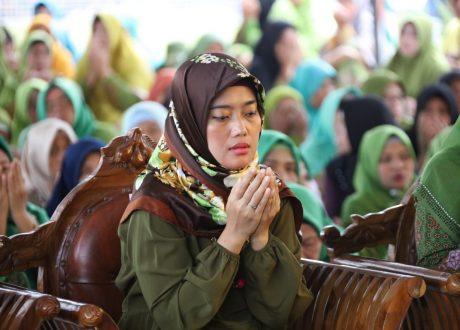 Nunik Rayakan Tahun Baru Islam Bersama Masyarakat dan MWC NU Pugung