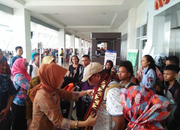Peserta FLS2N dari Sejumlah Provinsi Mulai Tiba di Lampung