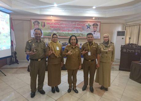 Pemprov Lampung Gelar Diklat Calon Kepala Perpustakaan Sekolah