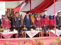 Gubernur Arinal Pimpin Upacara Peringatan HUT ke-28 Kabupaten Lampung Barat