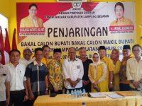 Golkar Lamsel Gelar Rakor Pendaftaran Bacalon Bupati & Wakil Bupati Pilkada 2020