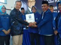 Fran Kembalikan Berkas Penjaringan Balonkada di DPD PAN Kota Metro