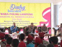 Polda Lampung Sukses Gelar Dialog Interaktif Kamtibmas Pasca Pemilu di Lamsel