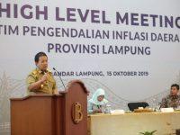 Gubernur Rumuskan Jurus Jitu Pengendalian Inflasi di Lampung