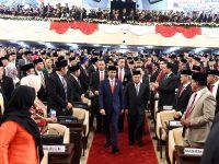 Pelantikan Berjalan Khidmat, Presiden Sampaikan Ucapan Terimakasih