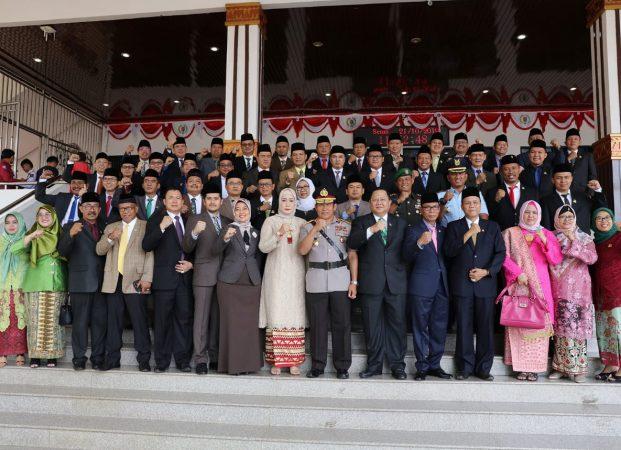 Wagub Nunik Ajak Pimpinan DPRD Provinsi Lampung Bersinergi