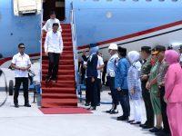 Tiba di Palu, Presiden Langsung Tinjau Pembangunan Hunian Tetap Korban Gempa