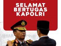 Jokowi Lantik Idham Azis Sebagai Kapolri