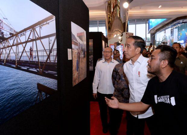 Jokowi Hadiri Pameran Foto 'Membangun Indonesia'