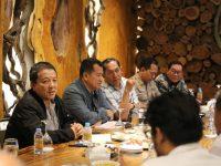 Gubernur Arinal dan Forkopimda Rapat Pemantapan Peresmian Jalan Tol