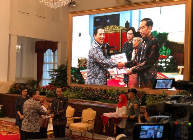 Gubernur Arinal Djunaidi Terima DIPA 2020 dari Presiden