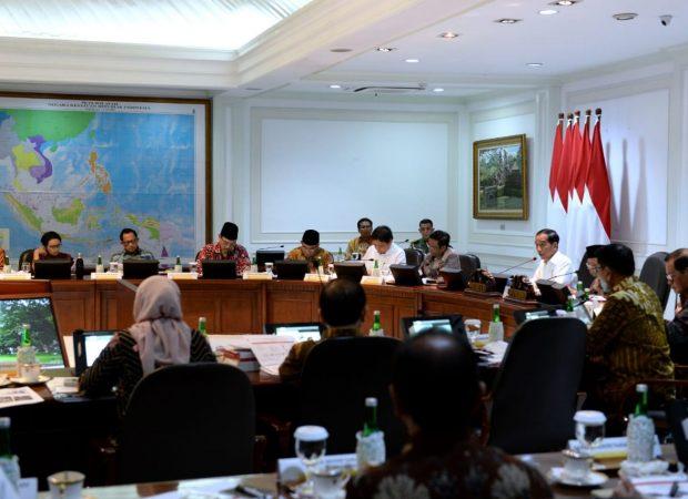 Jokowi Beri Lima Arahan ke Kabinet Soal RPJMN