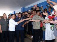 Tiba di Lampung, Presiden Sidak Layanan BPJS Kesehatan di RSUD Abdul Moeloek