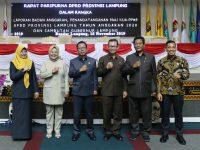 DPRD Lampung Setujui KUA PPAS APBD 2020, Pendapatan Daerah Capai Rp.7,866 Triliun