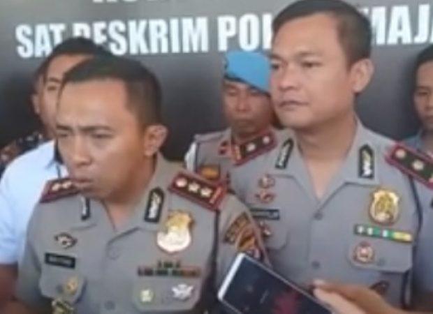 Putera Kedua Bupati Majalengka Ditahan Polisi Setelah Dicecar 26 Pertanyaan