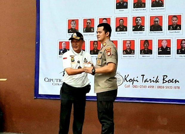 Pelantikan Ketua dan Pengurus Citra Bhayangkara Sektor Kalideres, Ini Pesan Kapolsek