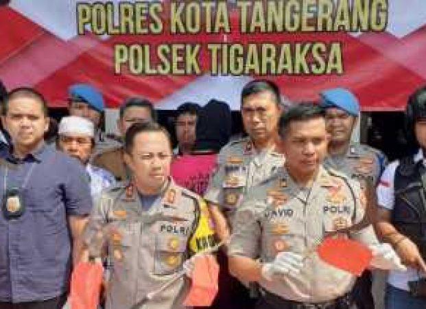 Polresta Tangerang Amankan 10 Remaja Pengeroyok Pelajar