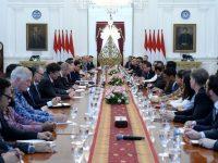 Terima Pebisnis AS-ASEAN, Jokowi Harap Bisnis AS Optimalkan Kerjasama Terutama di Dua Bidang Ini