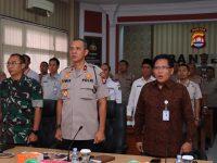 Polda Banten Ikuti Vicon dari Mabes Polri, Kesiapan Operasi Lilin 2019