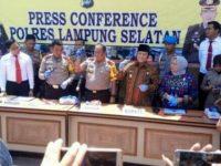 Kapolda Lampung Suntana Gelar Ekspos Di Lamsel