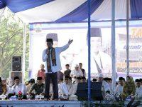 Puluhan Ribu Jamaah Antusias Saksikan Ceramah Ustadz Abdul Somad Di Kalianda