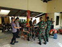 Kopassus dan Brimobda Banten Gelar Latihan Marawis Bersama