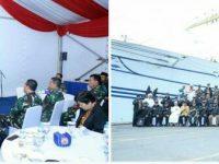 Panglima TNI dan Tokoh Lintas Agama Ngopi Bareng di KRI Bima Suci 945