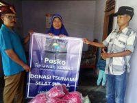 Posko Kobar Lamsel Masih Terus Bagikan Bantal Untuk Pengungsi