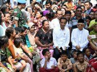 Resmi Unggul di Pilpres 2019, Pasangan Jokowi-Ma'ruf Sampaikan Pidato Kemenangan