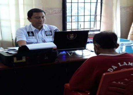 M. Yaman Guru Ngaji Cabul Ditahan Polda Lampung